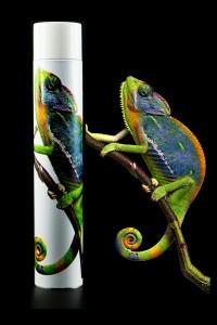 Iguana e Tubetto