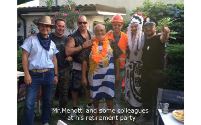 A new life of challenges for Mr. Menotti!
